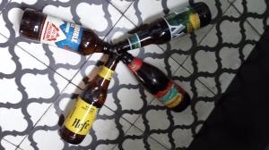 Algunas de las cervezas artesanales de la ruta del Oktoberfest de Ballester.