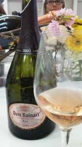 El Ruinart rosé 2002 es un vintage fenomenal.