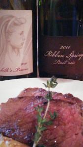 """Ambos vinos fueron perfectos para los platos  confeccionados por el chef Ernesto Rivera """"Micheito"""","""