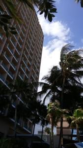 Vista del Hotel Marriott.