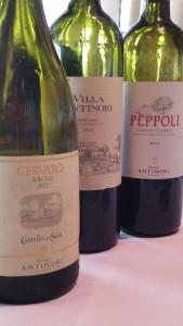 Los vinos tienen la filosofía de la bodega toscana.