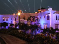 Grandioso el Castillo emblemático de la familia Serrallés, de Ponce y de Puerto Rico.