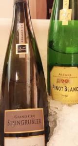 Parte de los vinos presentados por APSVA en Puerto Rico.