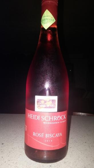Rosé Biscaya de Heidi Schrock.